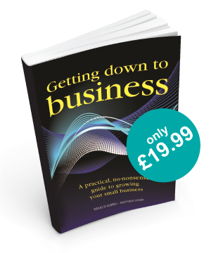 getting down to business book image from Executive training and consultancy limited