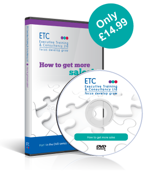 how to get more sales dvd image from Executive training and consultancy limited